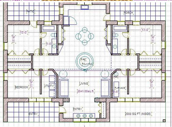 straw bale house plan from balewatchcom Tiny House Pinterest