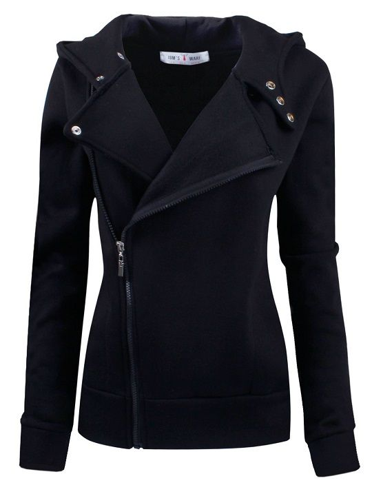 Ware Women Fleece Zip Up Jacket. Great twist on your average