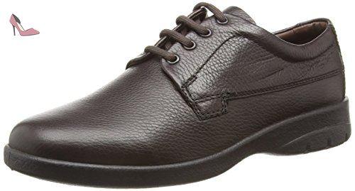 Alex, Chaussures de Ville Homme - Marron - Brown (Antique Brown) - 47Padders