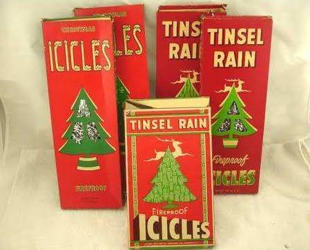 Vintage Icicles & Tinsel Rain