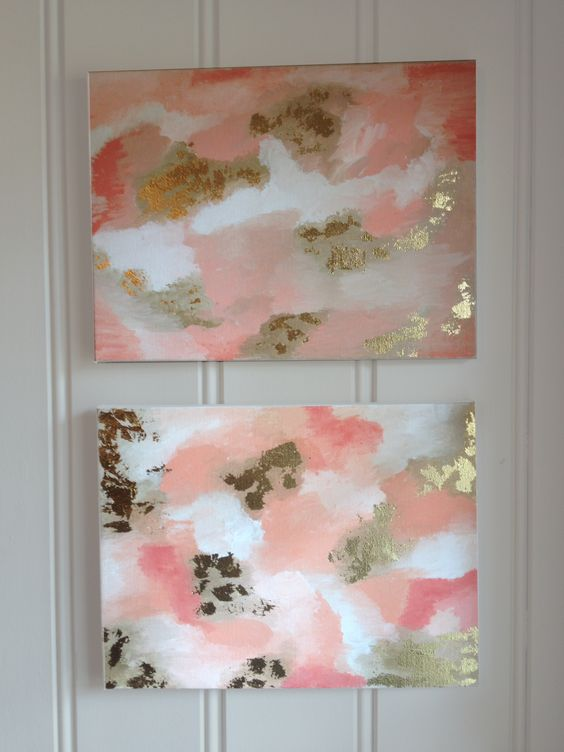 Diy decorating decorating ideas and diy and crafts on for Diy abstract wall art