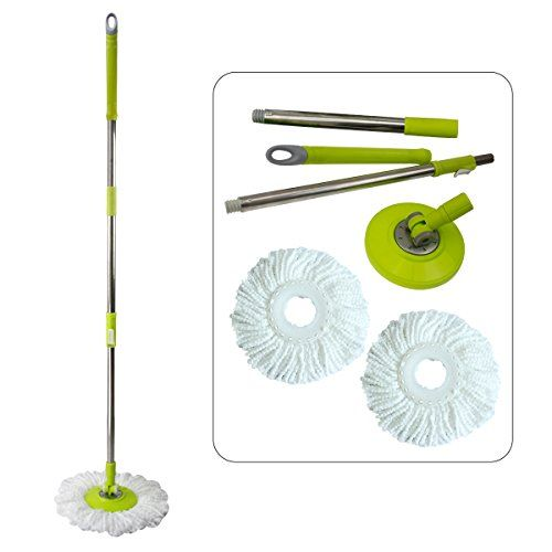 Joyclean Spin Magic 360 Easy Mop Handle And Easywring Mop Head