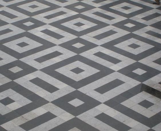 Mosaic floors paris and antiques on pinterest for 10x10 ceramic floor tile