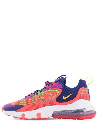 Air Max 270 React Eng Sneakers Laser Crimson in 2020 | Air