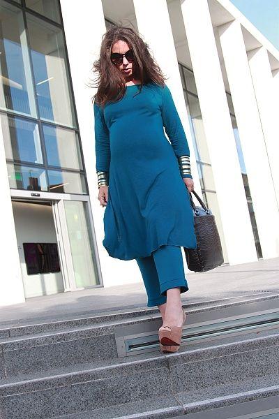 Maternity Top Work Day Wear Katya Kaftan | Maternity Tops