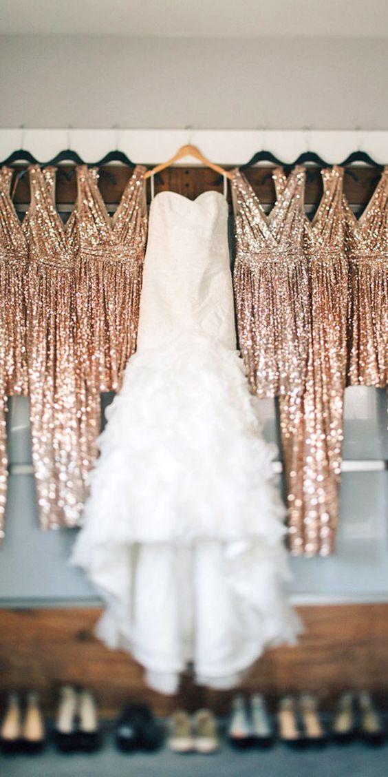 Pre-Wedding Shots: Hanging Wedding Dress ❤ See more: http://www.weddingforward.com/hanging-wedding-dress/ #weddings