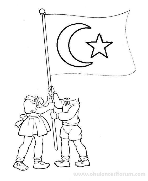 Cumhuriyet Bayrami Ve Ataturk Etkinlikleri Sanat Boyama Sayfalari