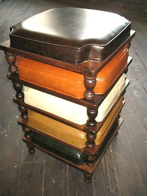 Ethan Allen Stacking Footstools Rusty2mod Pinterest