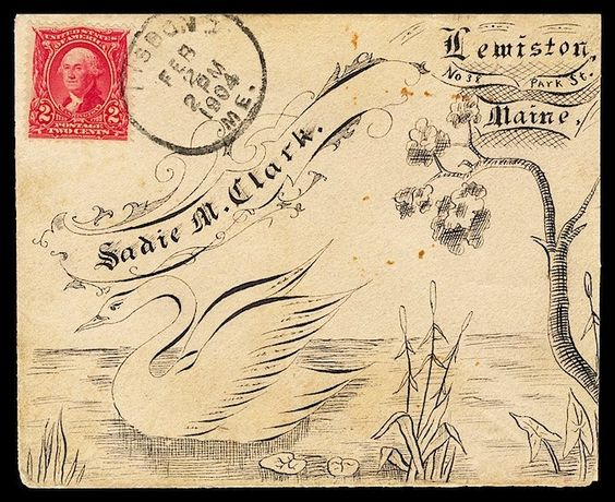 beautiful envelope