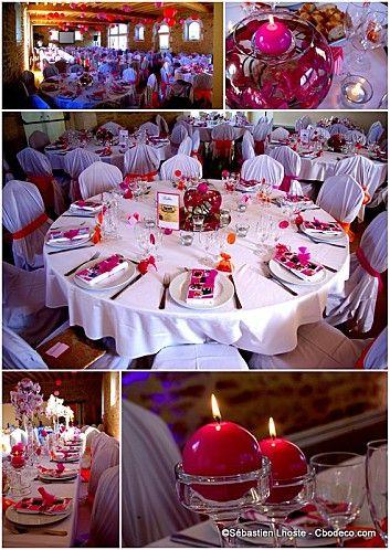 ... mariage bleu Marine et Fushia  Pinterest  Mariage, Articles and