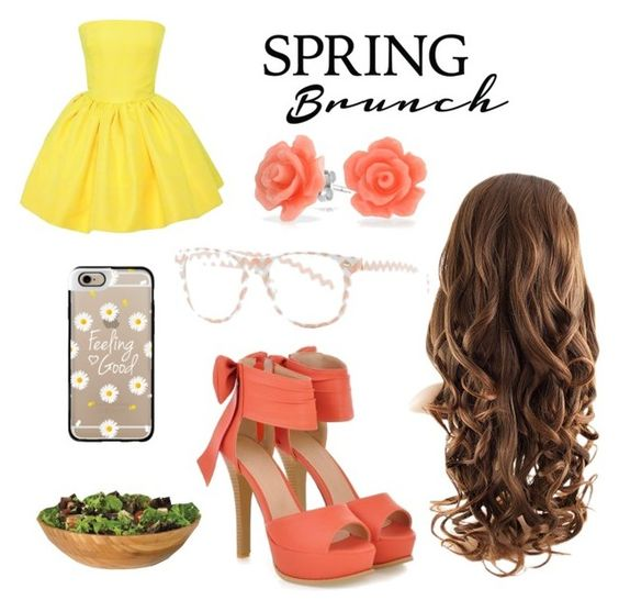 """""""Spring Brunch"""" by princessssophia on Polyvore featuring Martin Grant, JY Shoes, Bling Jewelry, Daytrip, Lipper and Casetify"""