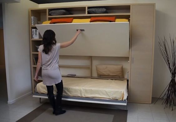 multifunction furniture italian wallbed
