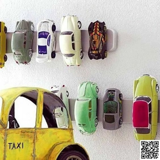 14. Toy Car #Storage - 33 Ikea Hacks #Anyone Can do ... → DIY #Cheapest