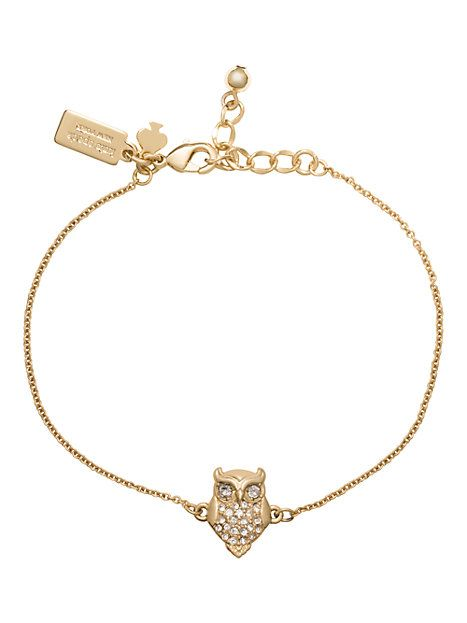 #KateSpade coming soon to #Capri #Jewelers #Arizona ~ www.caprijewelersaz.com  ♥ things we love owl bracelet