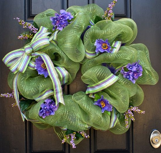Mesh wreaths for sale wreathe crafts pinterest for Craft wreaths for sale