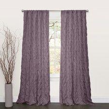Lake Como Rod Pocket Curtain Single Panel