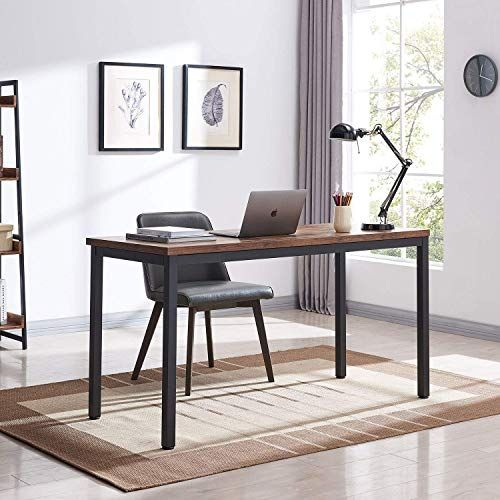 New Vinext 47 Industrial Computer Desk Writing Desk Home Office Desk Pc Laptop Table Simple Study Table Table Living Dining Room Easy Assemble 1 18in In 2020 Computer Desks For Home