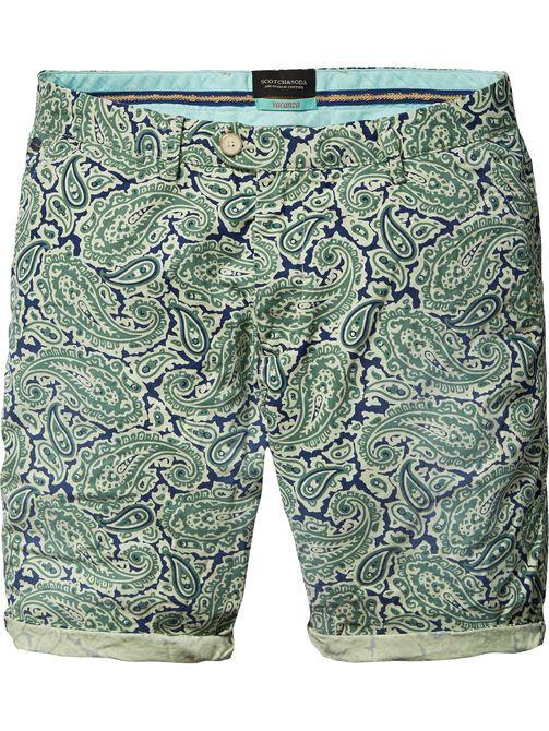 Shorts chinos de algodón