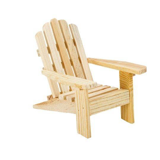 Miniature Adirondack Chair 3 75 X 2 25 X 4 Inches By Darice 6