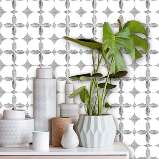Easier To Apply Than Regular Wallpaper Our Peel N Stick Removable Repositionable Wallpaper Is The Pe Marble Effect Wallpaper Vinyl Wallpaper Carrera Marble