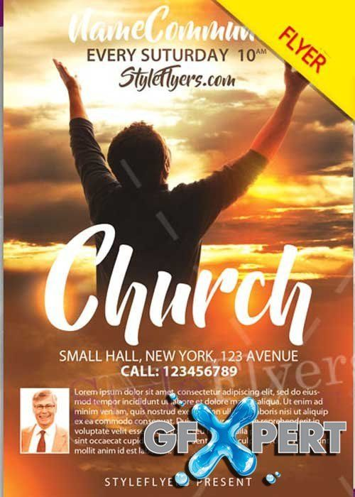 Christmas Party V12 2020 Flyer Church Flyers Templates Free Download Free Church Psd V12 Flyer