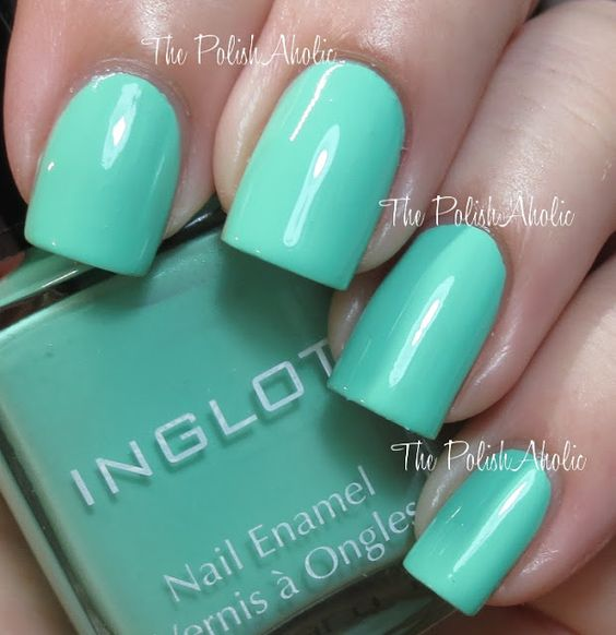 Inglot Spring 2013 Pastel Collection Swatches