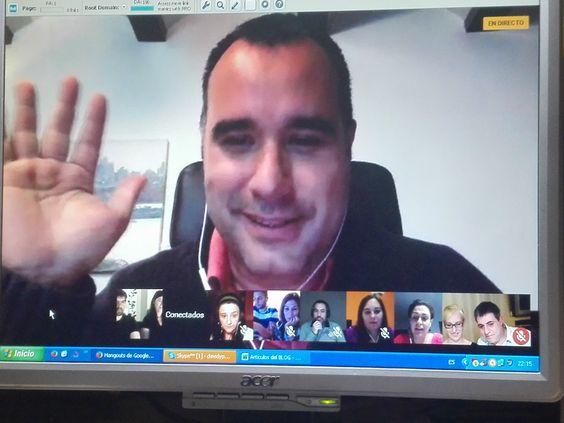 Esta noche en #conecta2enlared desde #Lakdemia como utilizamos de redes sociales. #davidypilar