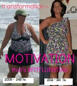 hard work DOES pay off! you can do it - just look at this pic. #fitfluential