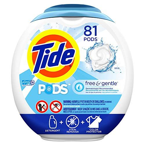 Prime Members Amazon S S Deal Tide Free And Gentle Laundry Detergent Pods 81 Count Gentle Laundry Detergent Laundry Detergent Tide Free And Gentle