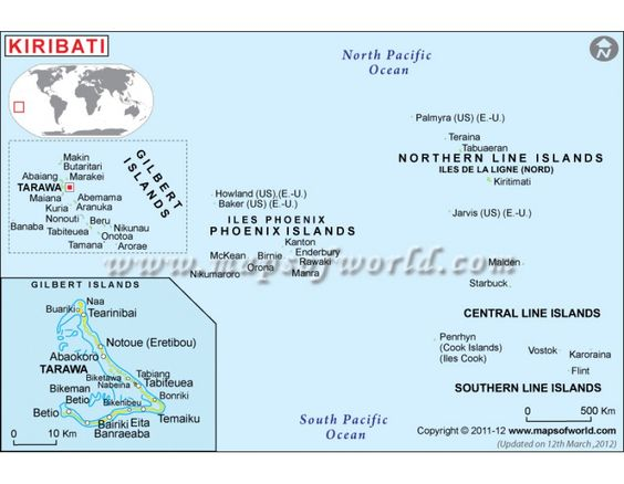 Best Kiribati Map Ideas On Pinterest Kiribati Island Tarawa - Kiribati map quiz