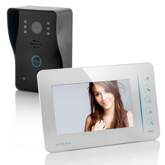 7 Inch Security Video Door Phone