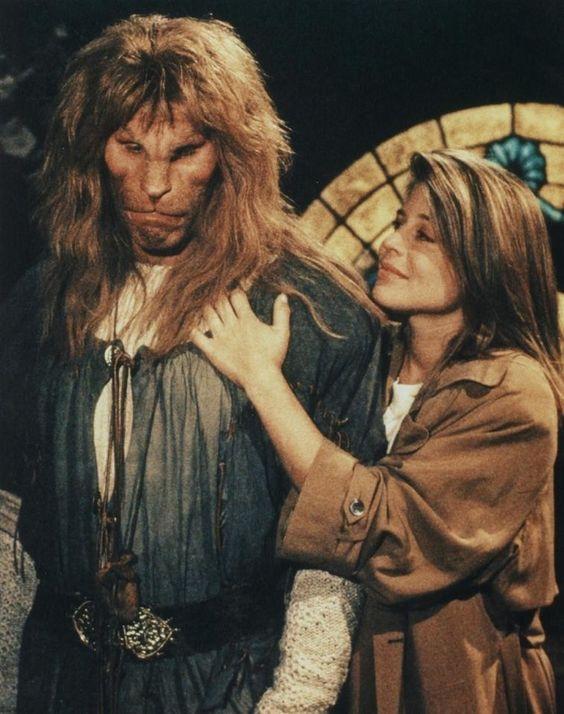 Resultado de imagem para série bela e a fera ron koslow 1987