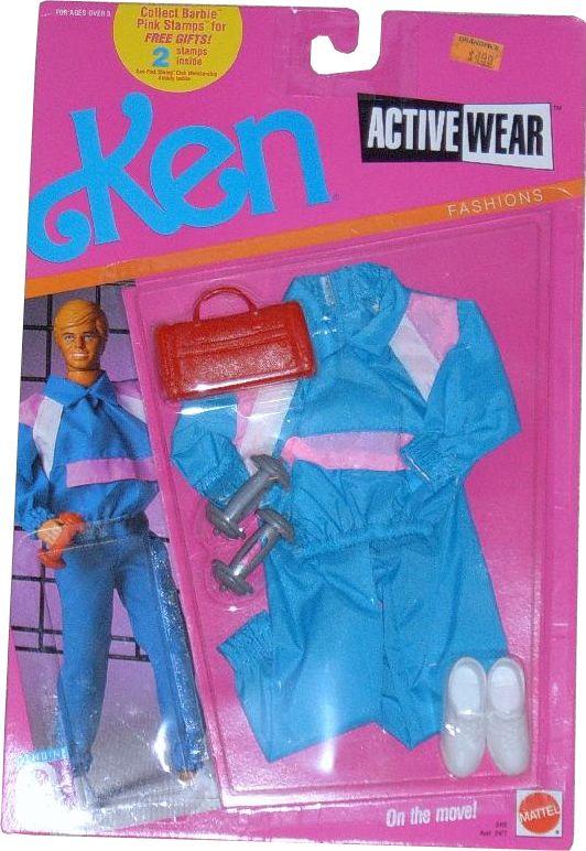 Mattel 1989 Vintage Barbie Doll Fantasy Fashions 2 Outfits Pageant NIB