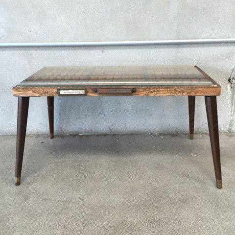 Industrial / Repurposed Letter Press Drawer Coffee Table – UrbanAmericana
