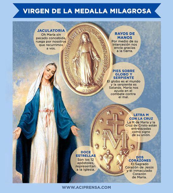 ® Virgen María, Ruega por Nosotros ®: NUESTRA SEÑORA DE LA MEDALLA MILAGROSA