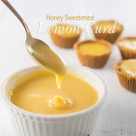 This Honey Sweetened Lemon Curd is a Paleo twist on the classic ...