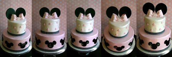 Minnie Mouse Cake Theme by Bake Dreams