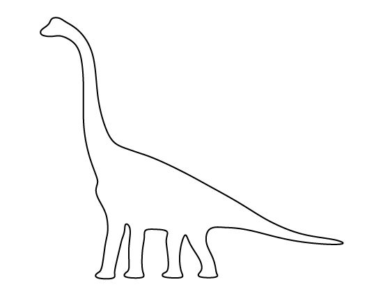 dinosaur templates to print - stencils templates and crafts on pinterest