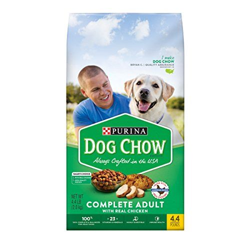 2 Bags Of Purina Dog Chow Complete With Real Chicken Adult Dry Dog