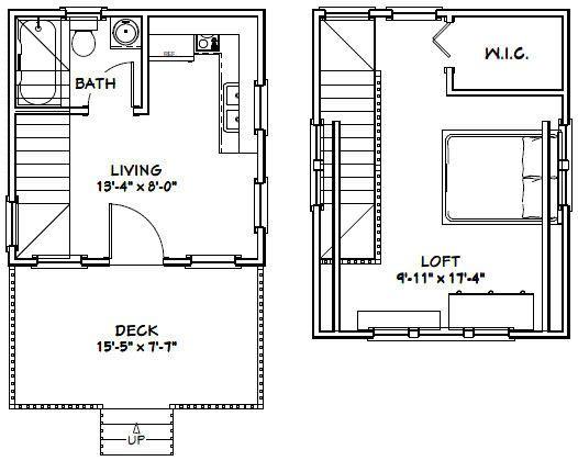 14x14 Tiny House 14x14h1c 399 Sq Ft Excellent Floor Plans Tiny House Floor Plans Tiny House Appliances House Floor Plans