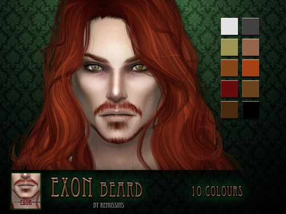 Sims 4 CC's - The Best: Exon Beard by RemusSirion