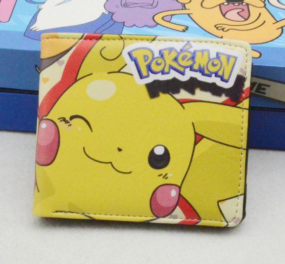 Pikachu Wallet Pokemon Cosplay Synthetic Leather Japanese Anime UK Seller