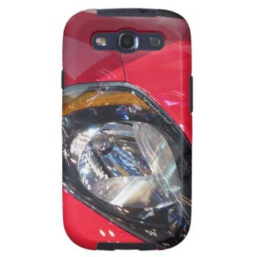 Red Car Samsung Galaxy SIII Cover #boys #teen #car #auto #case #phone #red #cool