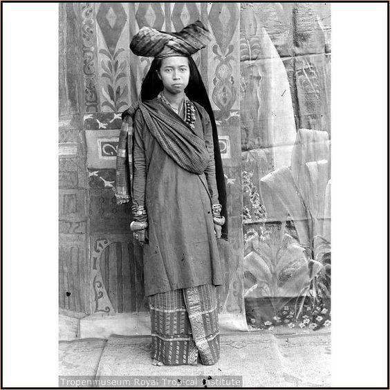 Indonesia, Sumatra. Minangkabau Lady From Ancient Times