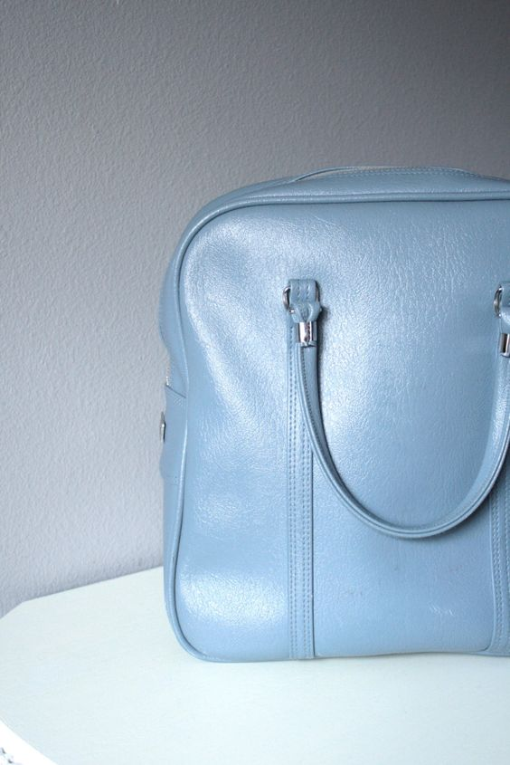 Vintage Amelia Earhart Carry On Bag  by TheMagpieRepository, $60.00