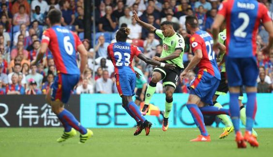 Crystal Palace 1 Bournemouth 1: The Cherries take the lead through a volley home by Joshua King