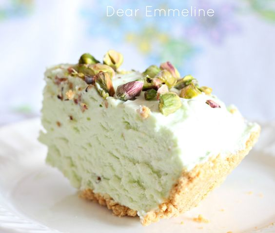 ... Pistachio Icebox Pie   Baking :D   Pinterest   Icebox Pie, Pistachios