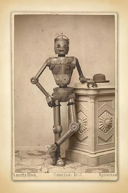 occultronic:  Vintage Robots shared from FaceBook