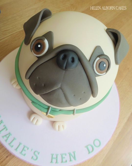 Pug Dog Pug Dog Cake Pug Birthday Cake Dog Cakes