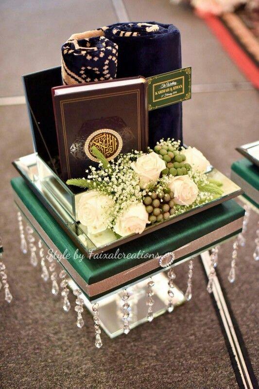 Hantaran fresh flower forest theme: